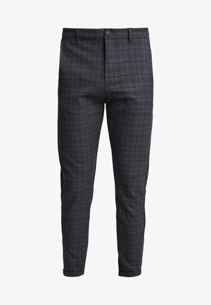 PISA REDUE PANTS - Stoffhose - grey check