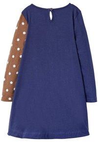 Boden - Jersey dress - segelblau, rotkehlchen - 1