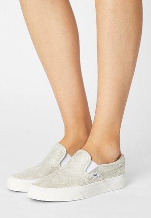 UA CLASSIC  - Slip-ons - silver/blanc de blanc