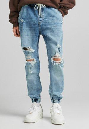 JOGGER - Jeans Tapered Fit - blue denim