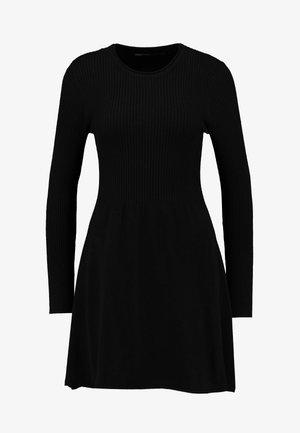 ONLALMA  - Pletené šaty - black