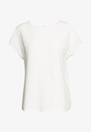 SEMKA - Basic T-shirt - milk