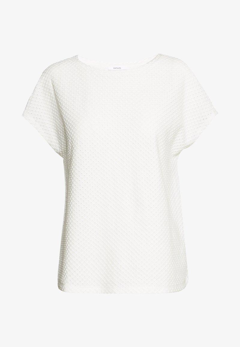 Opus - SEMKA - Basic T-shirt - milk