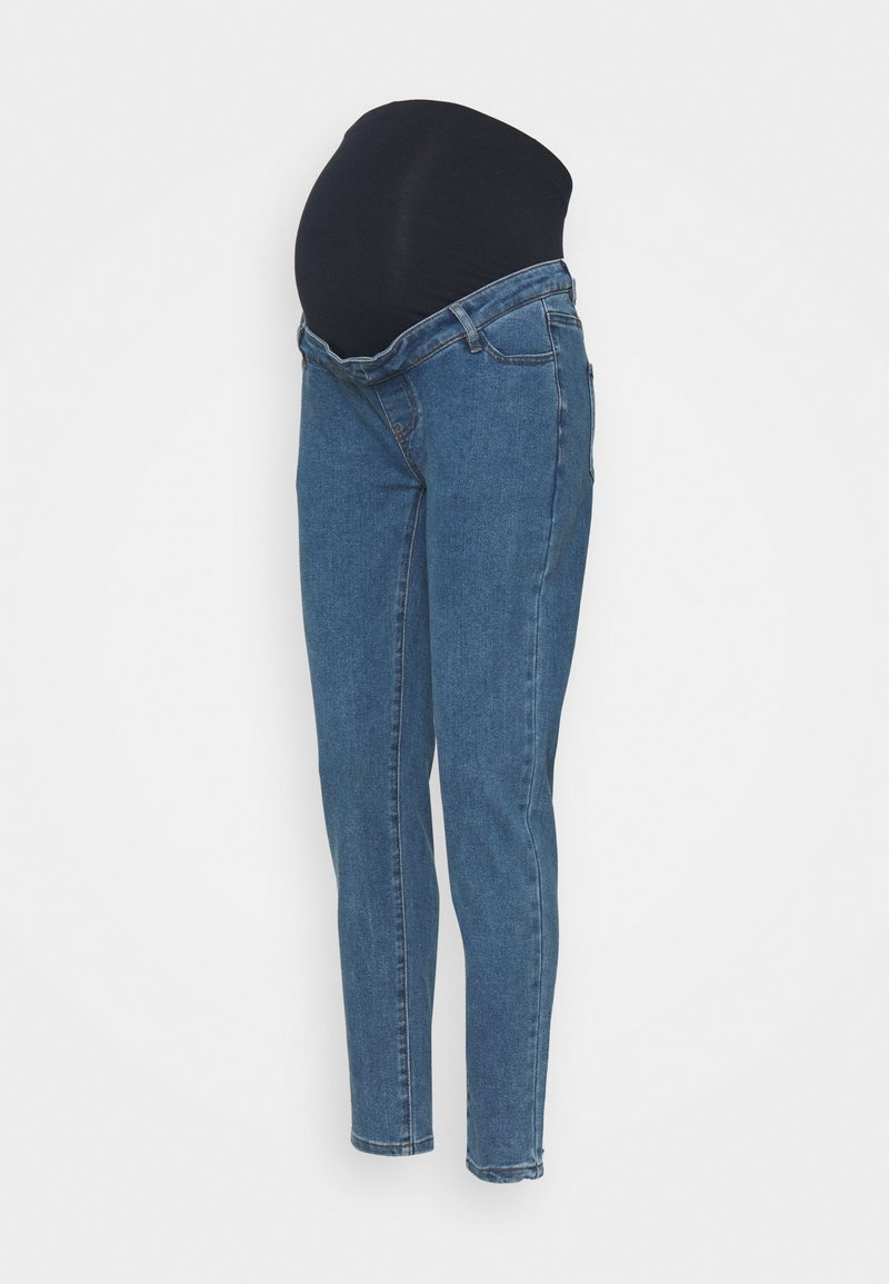 Missguided Maternity - RIOT COMFORT STRETCH - Jeans Tapered Fit - black
