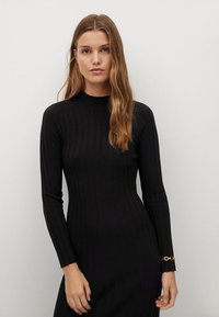 Mango - FLURRY - Jumper dress - noir - 2