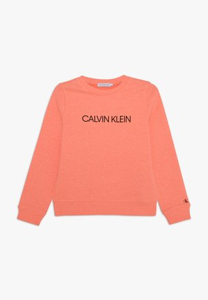 INSTITUTIONAL LOGO UNISEX - Sweatshirt - pink