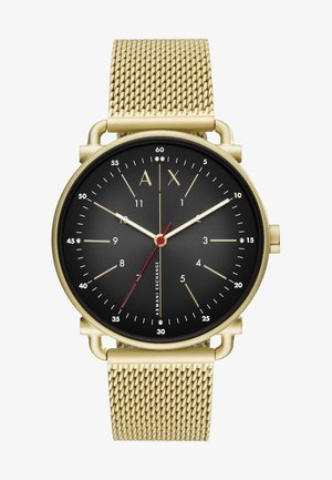 Uhr - gold-coloured