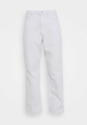 HIGH WAIST  - Jeans straight leg - light grey