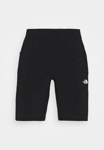 GLACIER SHORT - Pantaloncini sportivi - black
