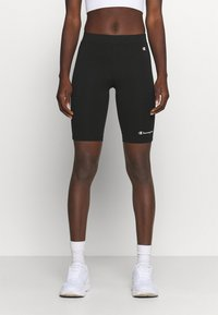Champion - BIKE TRUNK - Leggings - black - 0