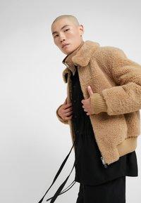 3.1 Phillip Lim - BOMBER JACKET - Leather jacket - natural - 4