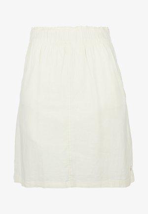 KURZ - A-line skirt - cream
