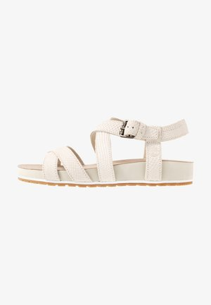 MALIBU WAVES ANKLE - Riemensandalette - white