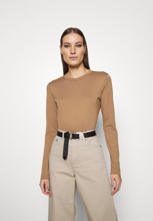 LONGSLEEVE - Long sleeved top - beige dark