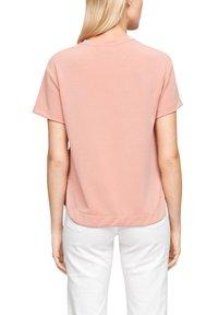 s.Oliver - Print T-shirt - pink - 1