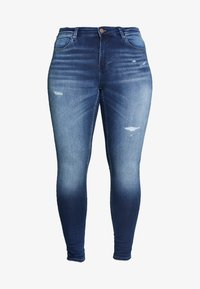 ONLY Carmakoma - CARCARMA  - Jeans Skinny Fit - medium blue denim - 3