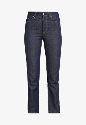 STELLA RAW  - Straight leg jeans - dark blue