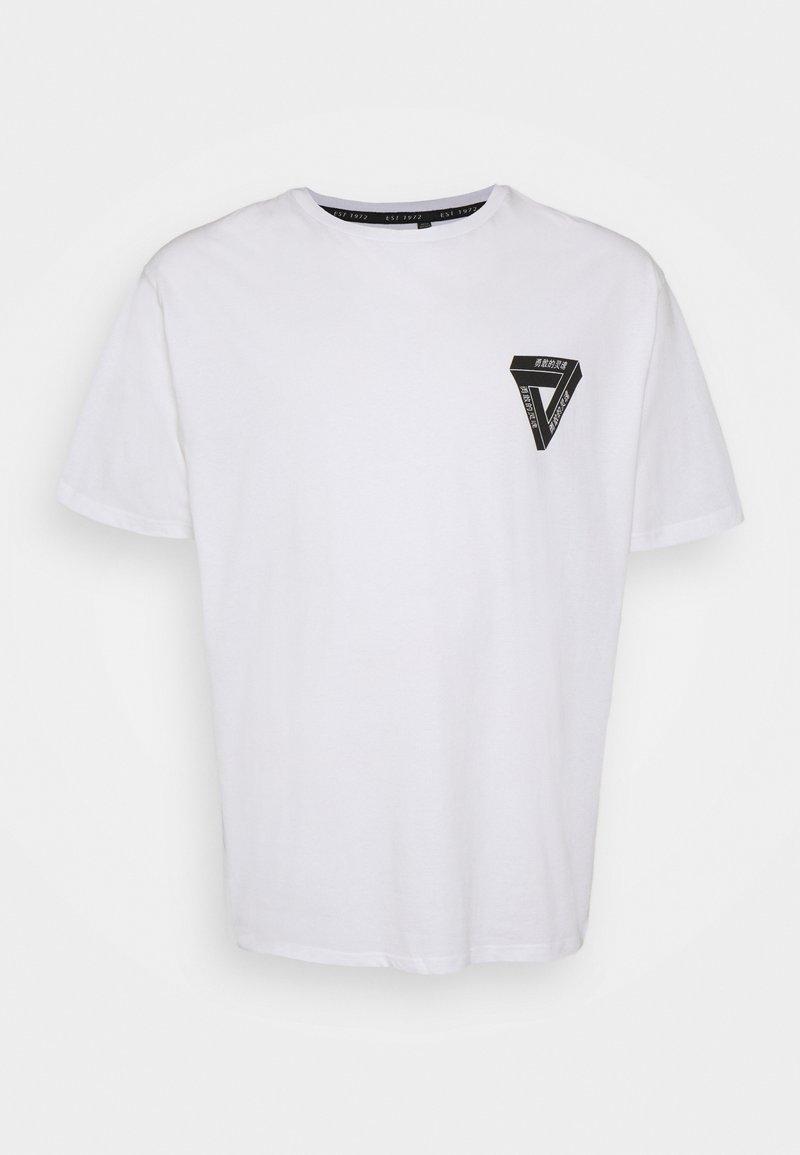 Brave Soul - SCAL - Print T-shirt - white