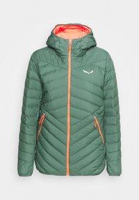 Salewa - BRENTA - Down jacket - duck green - 5