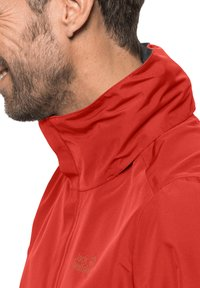 Jack Wolfskin - STORMY POINT JACKET  - Waterproof jacket - lava red - 2