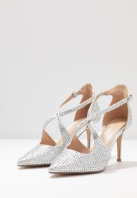 Head over Heels by Dune - CAROLIINA - Klassiske pumps - silver - 4