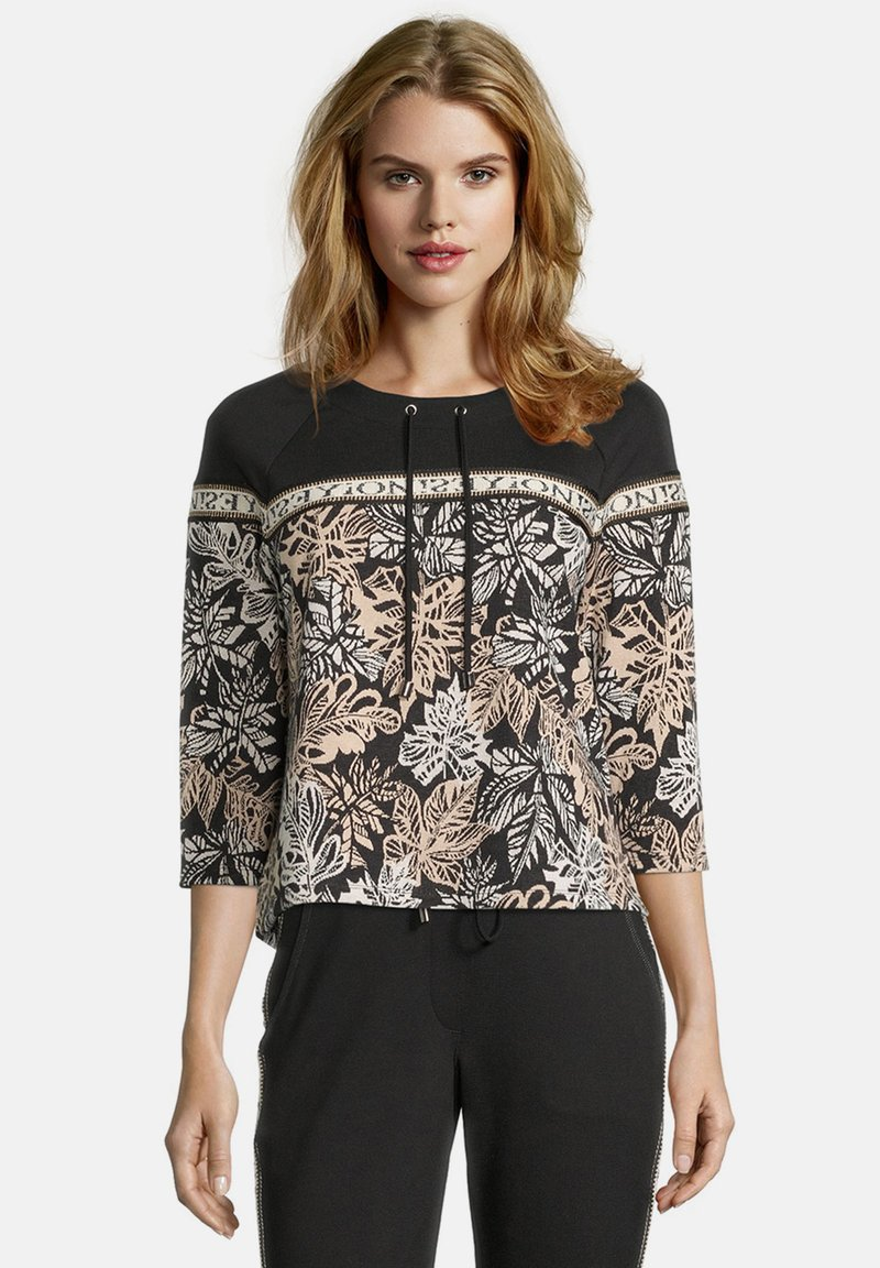 Betty Barclay - Long sleeved top - black/stone