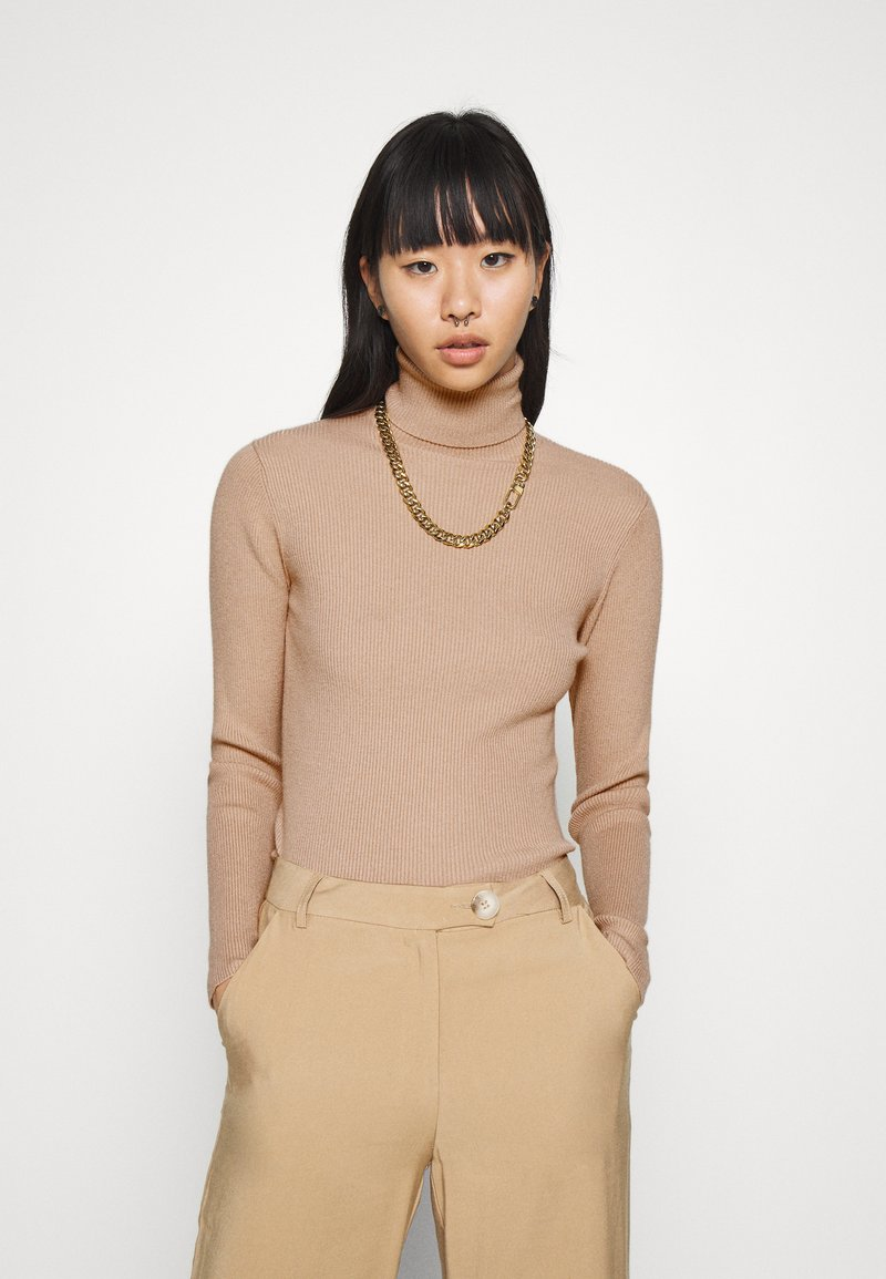 Nly by Nelly - PRIME ROLLNECK - Svetr - beige