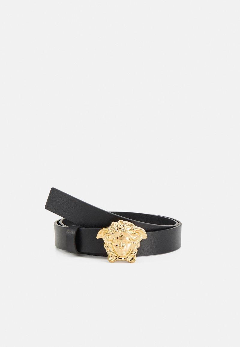 Versace - VITELLO MEDUSA BELT UNISEX - Belt - nero