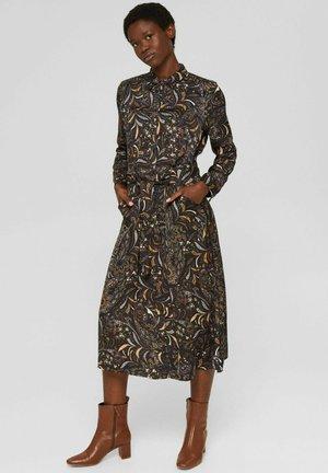 AUS MIT PAISLEY - Shirt dress - brown