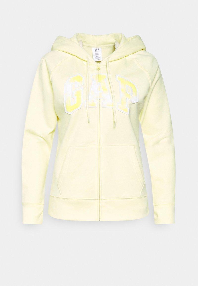 GAP - NOVELTY - Zip-up sweatshirt - new honeysuckle