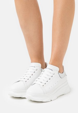 ADRY  - Sneakers laag - bianco/argento