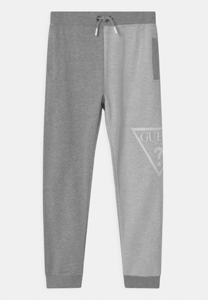 JUNIOR ACTIVE  - Tracksuit bottoms - light heather grey