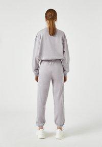 PULL&BEAR - Teplákové kalhoty - mauve - 2