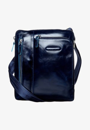 BLUE SQUARE - Across body bag - blu notte