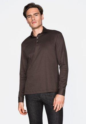 PESO - Polo shirt - beige/braun