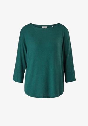 Maglietta a manica lunga - forest green melange