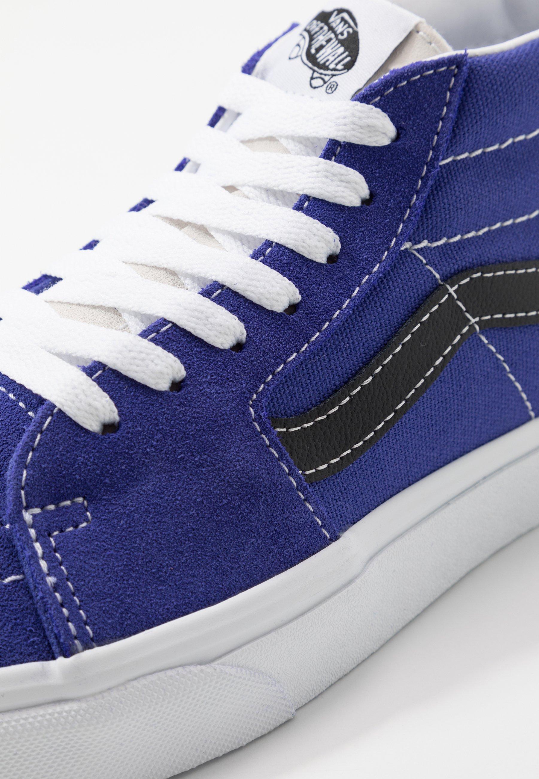 Vans SK8 MID - Baskets montantes - royal blue/true white - Sneakers femme Grande vente