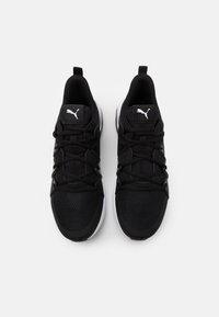 Puma - CELL FRACTION - Neutral running shoes - black/white/castlerock - 3