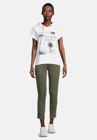 Cartoon - Print T-shirt - white/grey - 1
