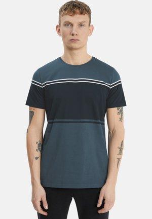 MAJERMANE  - T-shirt print - dark navy