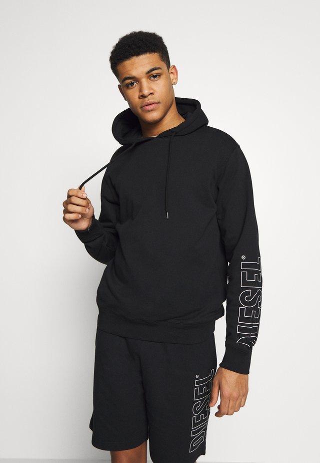 UMLT-BRANDON SWEAT-SHIRT - Jersey con capucha - black