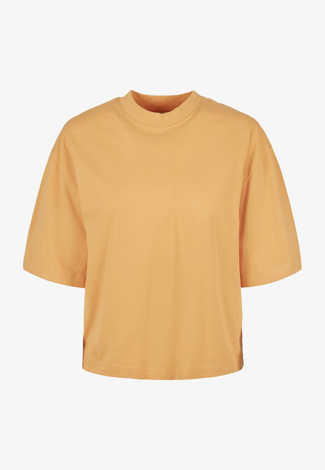 T-shirt basique - paleorange
