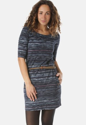 TANYA - Jersey dress - blue