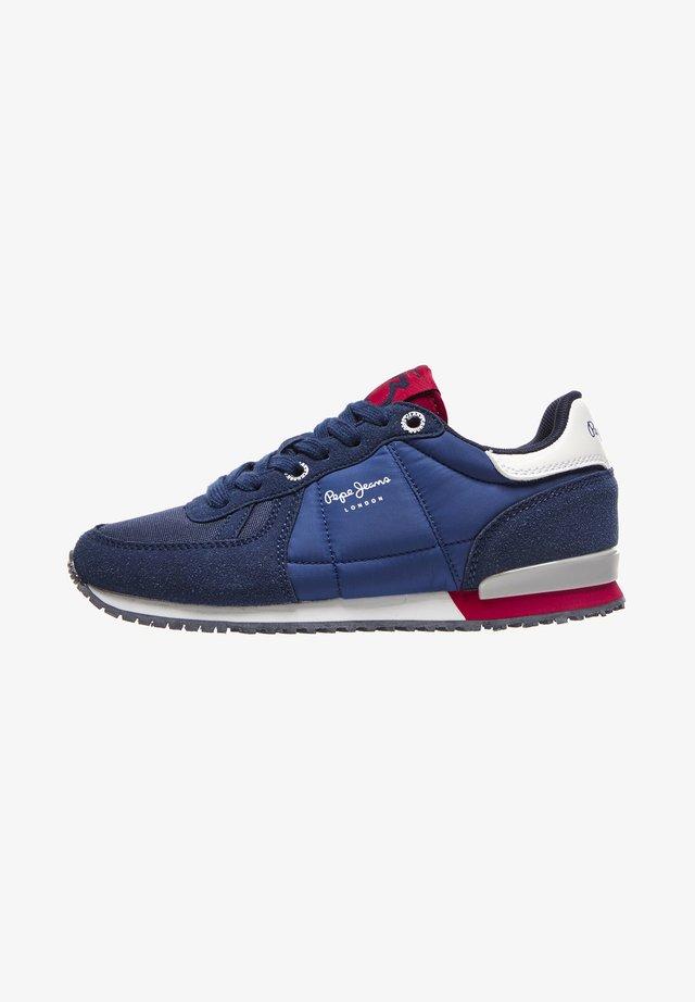 SYDNEY BASIC BOY AW20 - Sneakersy niskie - azul marino