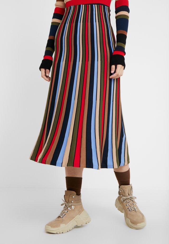A-line skirt - multicolore
