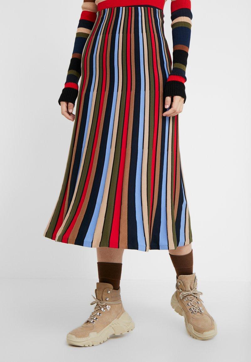 Sonia Rykiel - Áčková sukně - multicolore