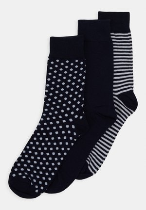 JACORGANIC SOCK 3 PACK - Calcetines - navy blazer