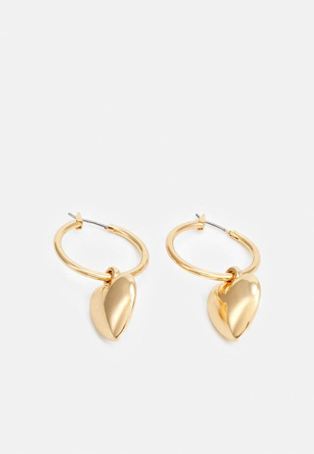 CHARM EARRINGS - Boucles d'oreilles - gold-coloured