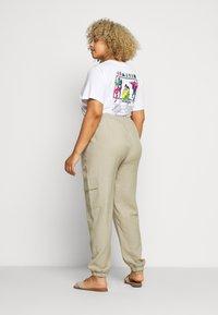 Zizzi - LONG PANTS - Trousers - tuffet - 2