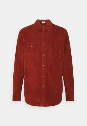 Shirt - burnt sienna